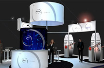 Modern design for trade show displays, booths, exhibition stands
